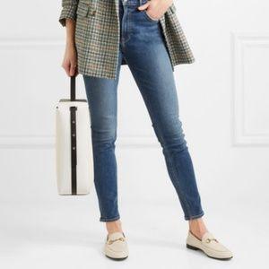 GRLFRND Kendall Dark Wash High Rise Skinny Jeans